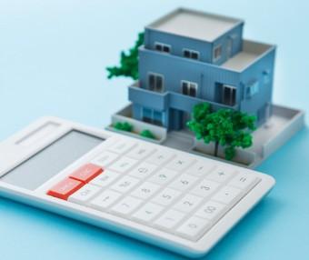 建物と電卓