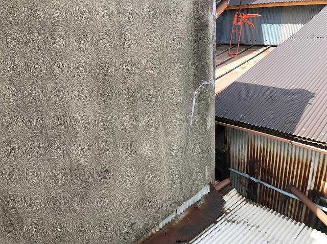 奈良市の2階外壁部分の補修前