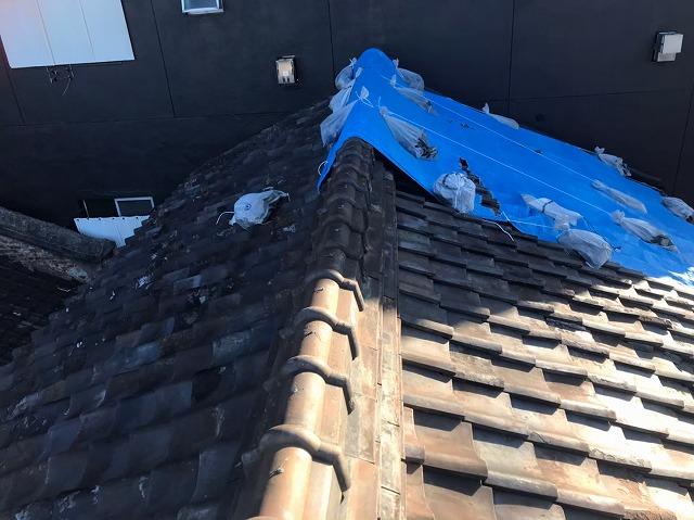 生駒市で瓦屋根のメンテナンスのご相談はオンライン無料相談から