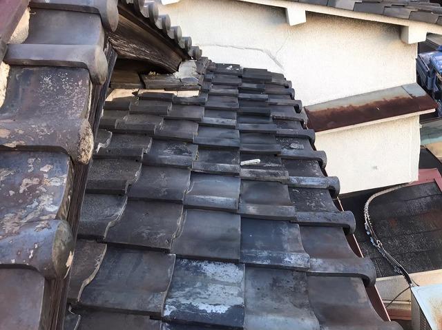 瓦屋根の経年劣化