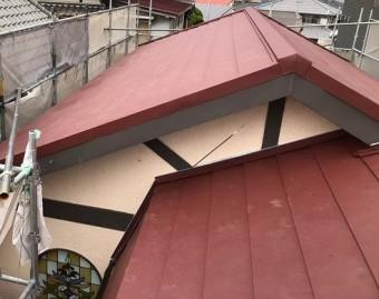 斑鳩町のシェイドブラウン屋根