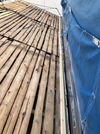 奈良市 バラ板 野地板