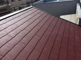 生駒市の屋根葺き替え工事完了