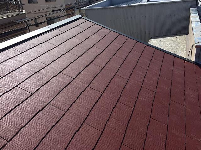 生駒市でカラーベストへの葺き替え工事完了
