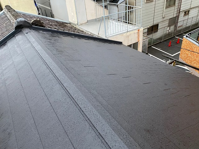 ガルテクト設置大屋根完成