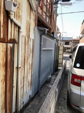 斑鳩町 トタン外壁 貼り替え完成