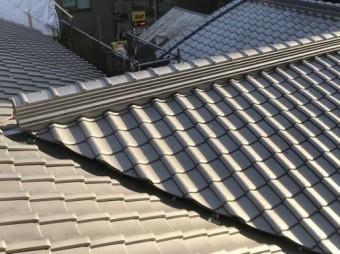 奈良市の瓦屋根完成