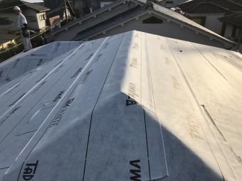 橿原市 防水紙設置