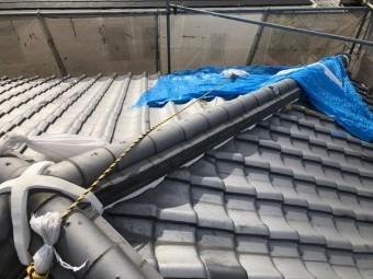 葺き替え工事の施工前