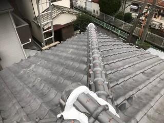 奈良市 棟瓦取り直し工事 完成