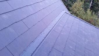 屋根材設置後写真