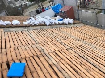 奈良市 洋瓦 瓦撤去
