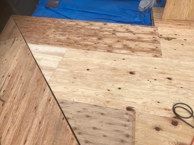 香芝市 野地板 設置