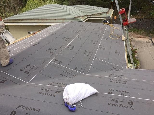 屋根防水紙