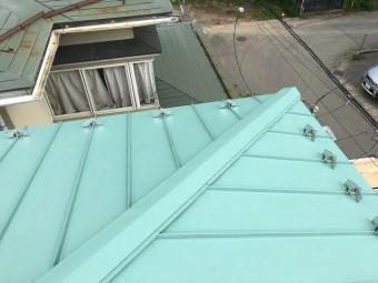 施工後屋根