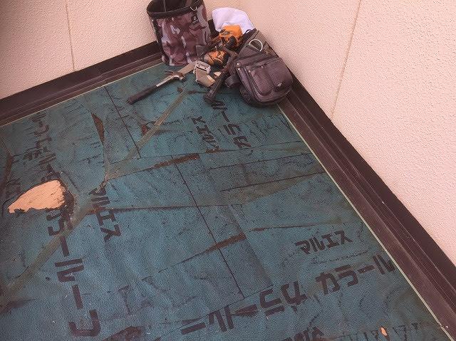 下屋根 防水シート
