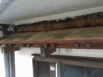 下屋根部分