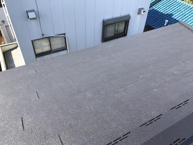 大屋根部分設置後
