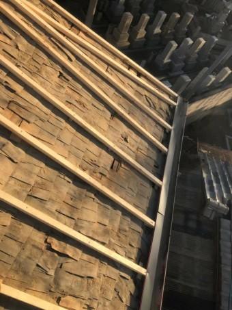 奈良市 垂木 設置中