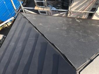 各屋根面にガルテクト設置
