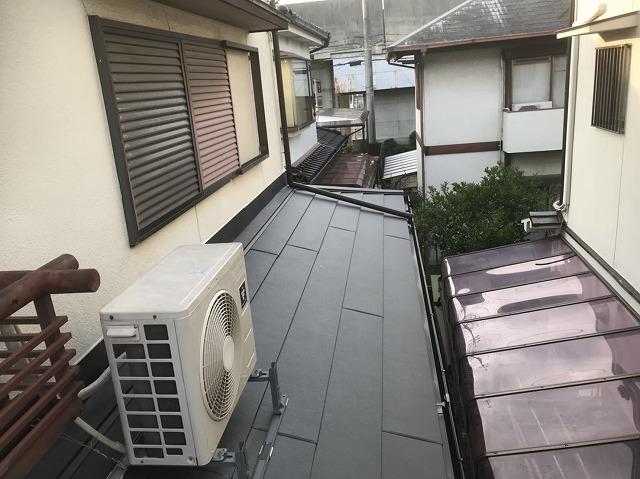 生駒市 雨樋 設置