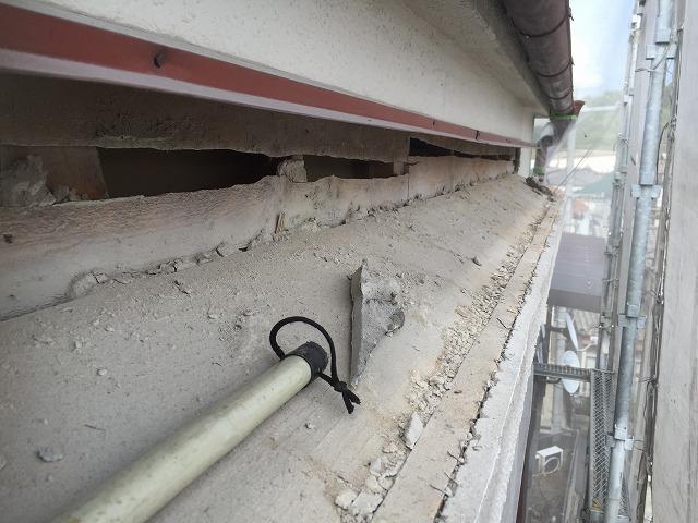 2階下屋根
