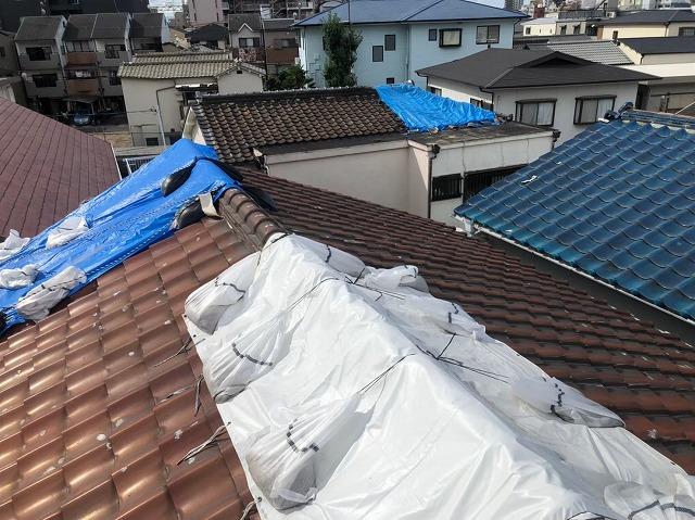 天理市の雨漏り点検