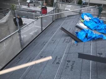 香芝市 防水シート 設置