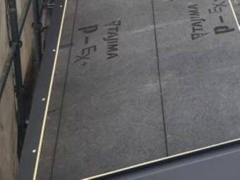 香芝市の新築住宅の屋根の水切り