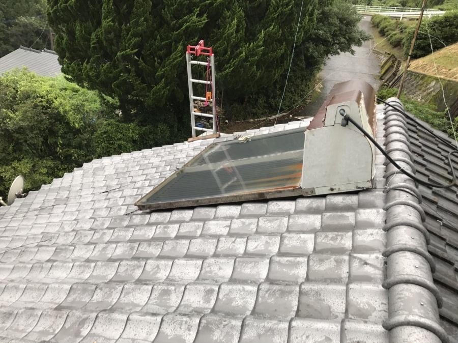 葺き替え完了の屋根