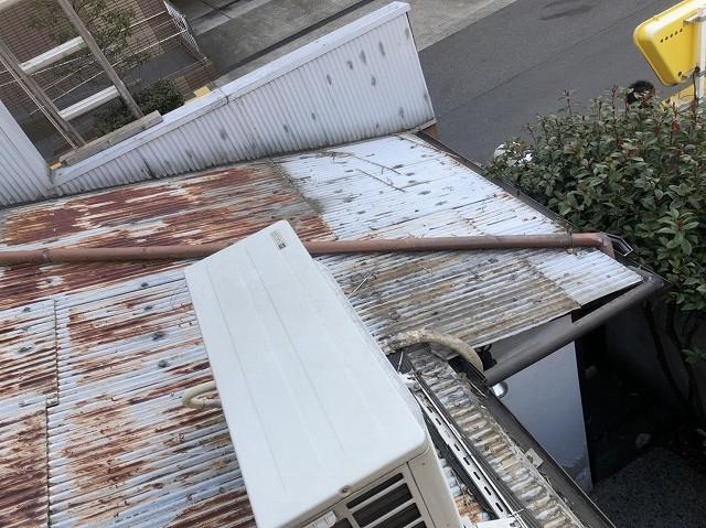 奈良市 トタン波板 無料点検