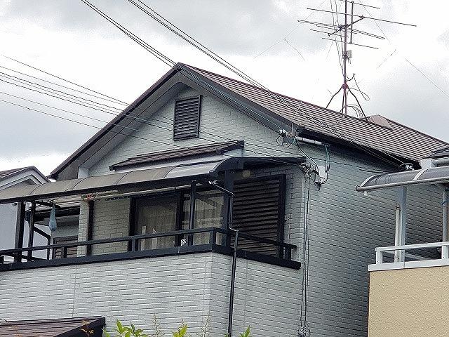 大和郡山市で屋根補修工事完工
