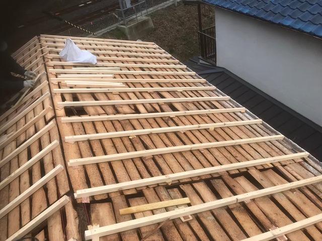 葛城市 垂木 設置