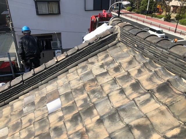 奈良市の雨漏り修理