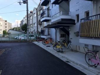 奈良市のマンション雨樋交換