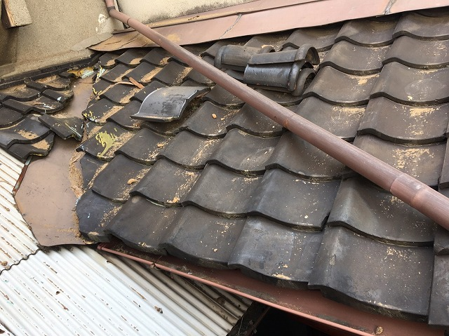 下屋根葺き替え完成