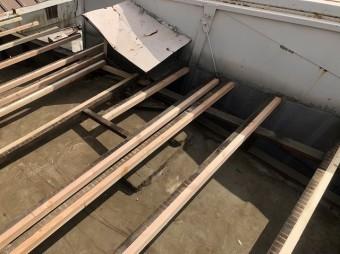 新たに垂木を設置