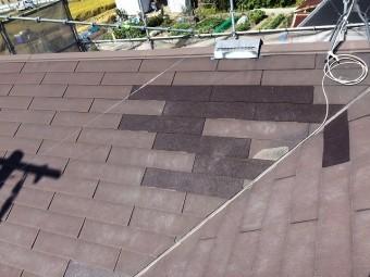 完成後屋根