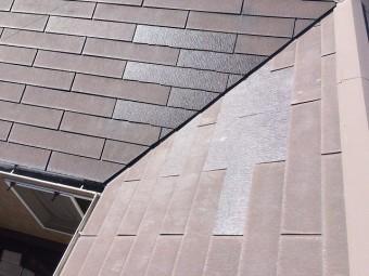 補修後屋根
