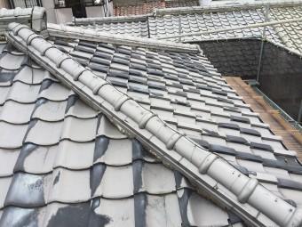 施工前確認屋根