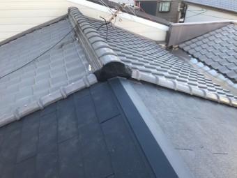 奈良市の長屋屋根の葺き替え工事