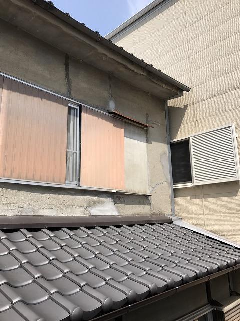 大和郡山市の雨染みの住宅