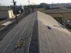 香芝市の和瓦屋根の防水紙設置
