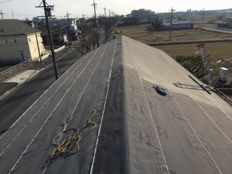 香芝市の防水紙設置完成