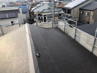 新しく生まれ変わったスレート屋根