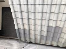 斑鳩町でS形瓦屋根の補修工事
