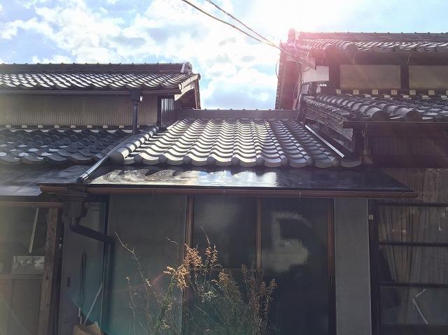 田原本町 下屋根 完成