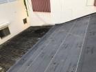 奈良市で屋根の防水紙を設置