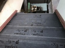 TAJIMA社のルーフィング設置