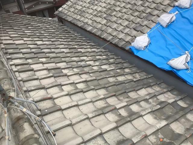 釉薬瓦屋根の無料メンテナンス